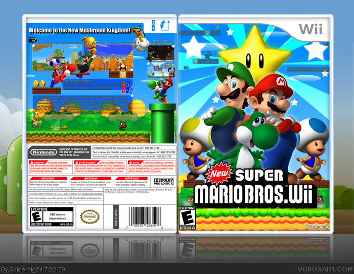 The new Super Mario Bros. game for Nintendo Wii now has the title of