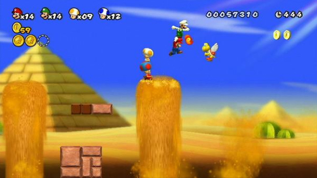 mario games for wii. Most Mario games tend to be