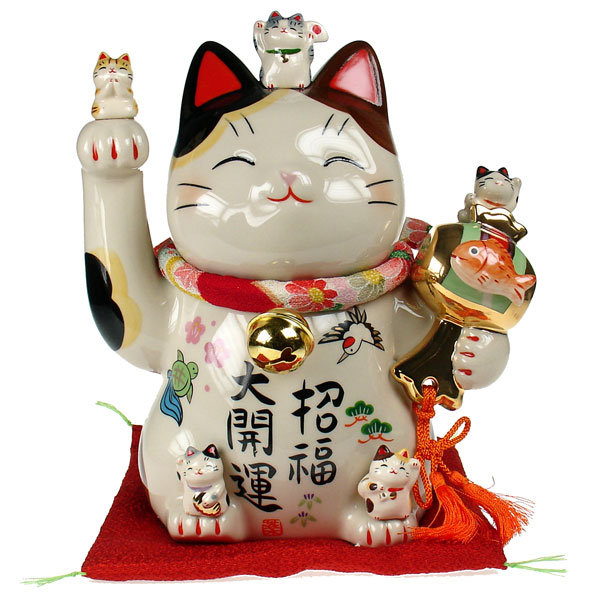 chinese good fortune cat