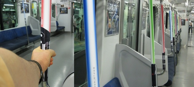 Lightsabers in JR Trains