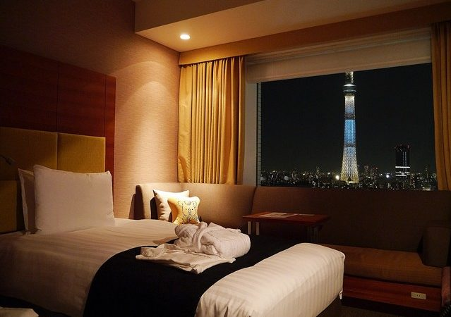 Lotte City Hotel with view of Tokyo Skytree