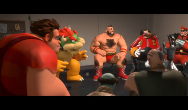 """""""Wreck-It-Ralph"""" & Popular Video Games Icons"""