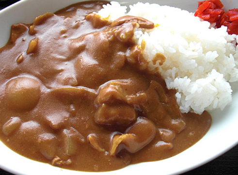 ... beef chicken or pork curry is called curry rice kare raisu because