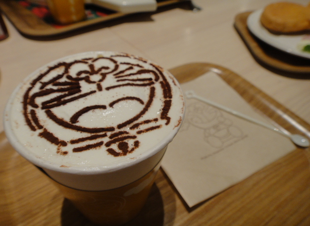 Doraemon official cafe at New Chitose Airport Terminal
