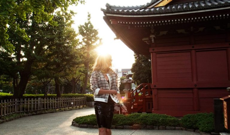a fashion blogger visits japan!