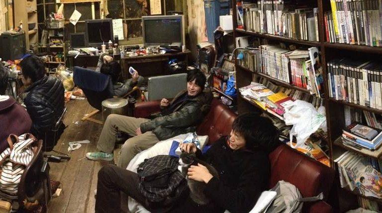 Ancient Dorm at Kyoto University is a Gaming Room