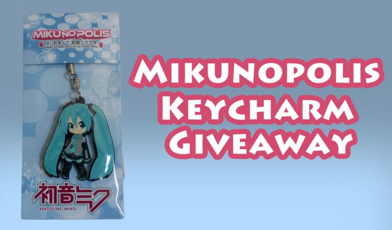 Hatsune Miku KeyCharm Giveaway!