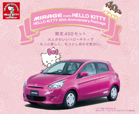 New Hello Kitty Goods To Celebrate Her 40th Anniversary