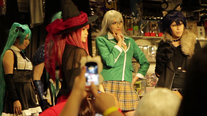 Wicked Wig Night Cosplay Event in Little Tokyo, Los Angeles