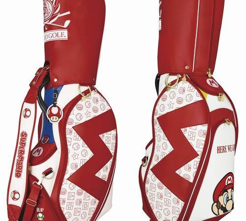 Mario Golf Bags Are a Great Incentive to Start Playing the World's Most Difficult Sport