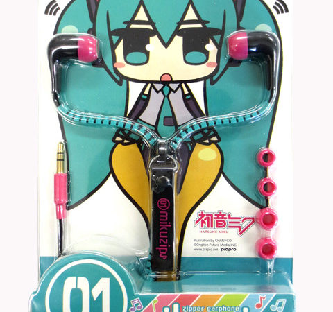 Miku Earphones in time for Hatsune Miku Day (March 9th)
