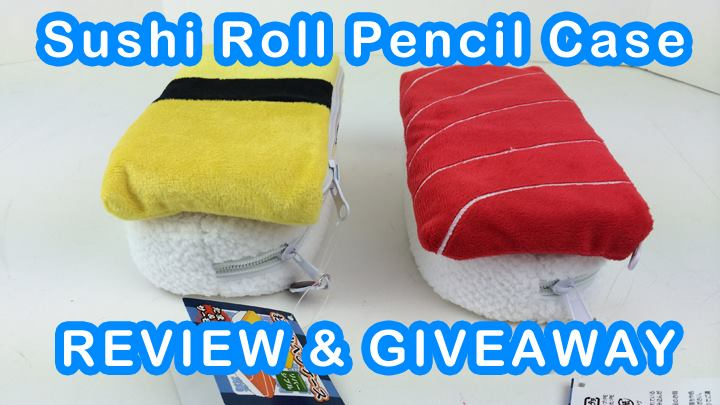 Sushi Pencil Case Review and Giveaway
