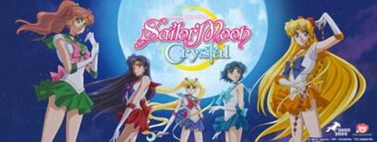 Sailor Moon Crystal to air on Hulu and Neon Alley July 5th