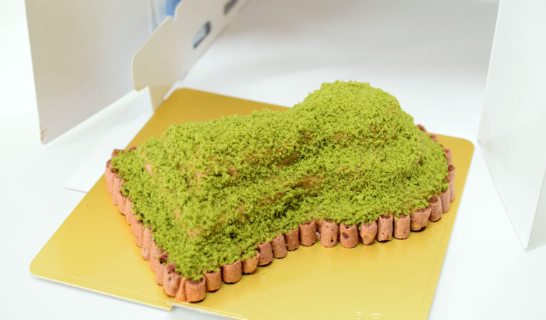 Ancient Japanese Megalithic Tomb Cake
