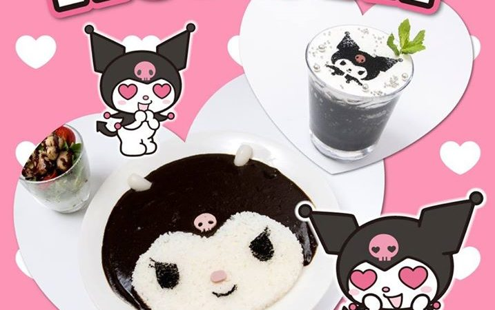 My Melody Café Adds Kuromi-Themed Dishes