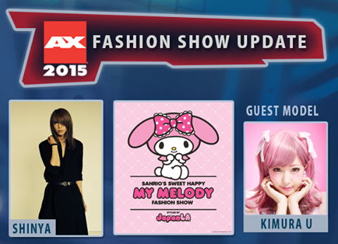 ANIME EXPO 2015 ANNOUNCES: SHINYA OF DIR EN GREY, MY MELODY, KIMURA U and LIZ LISA TO JOIN THE FASHION SHOW