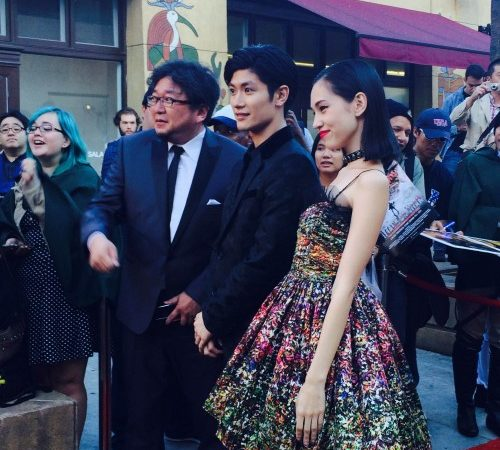Attack On Titan The Movie: Part One Hit the Egyptian Theater with Red Carpet featuring Haruma Miura and Kiko Mizuhara