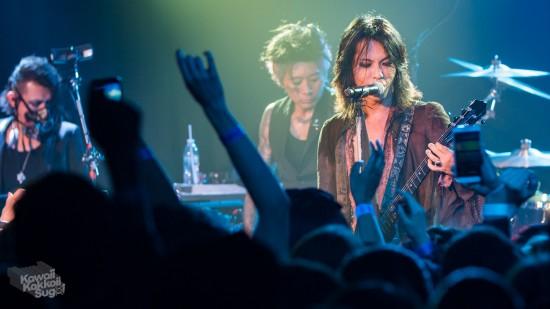 [中文LIVE REPORT] VAMPS10月5日洛杉磯公演現場記事 @ROXY THEATRE
