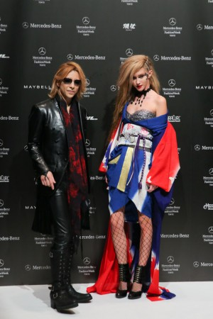YOSHIKI BRINGS Kimonos with rock 'n' roll makeover at Japan fashion week