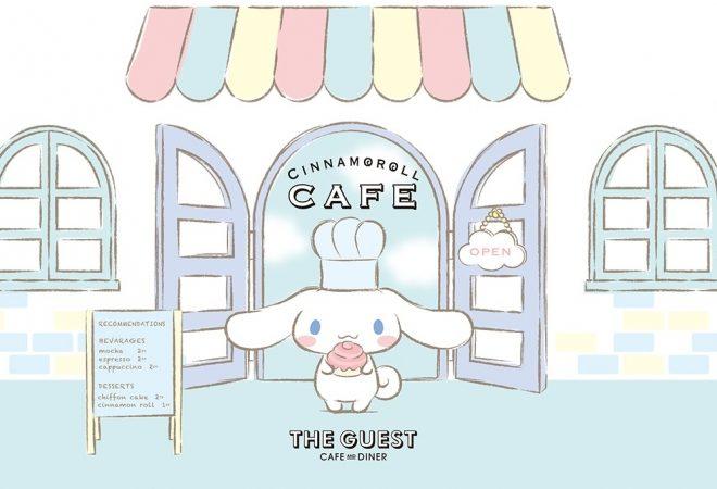 CINNAMOROLL CAFE to open in Shibuya!