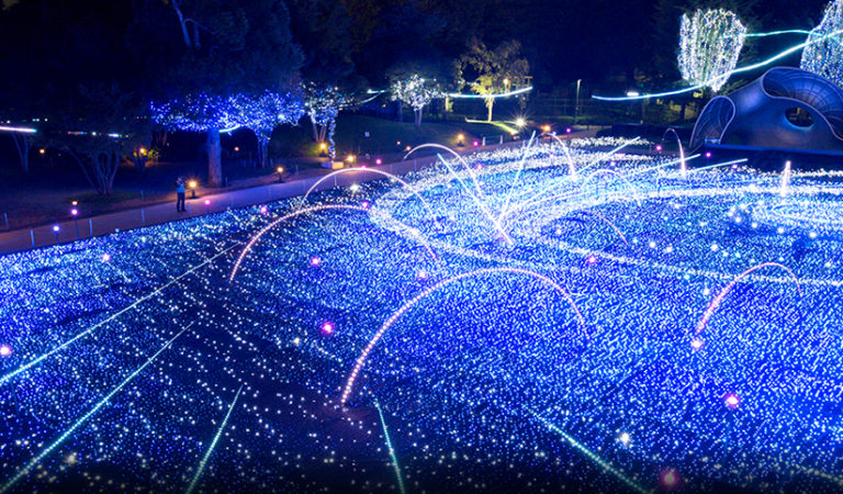 Top 10 Illumination Spots in Japan 2015