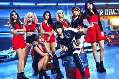 K-pop Group AOA Collaborates with T.M.Revolution for New Japanese Single