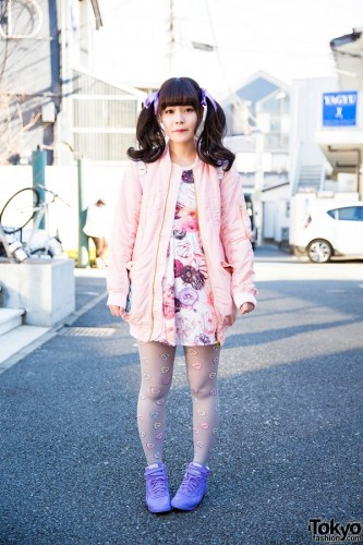 Tokyo Style Watch Harajuku Girl In Pastel Fashion By