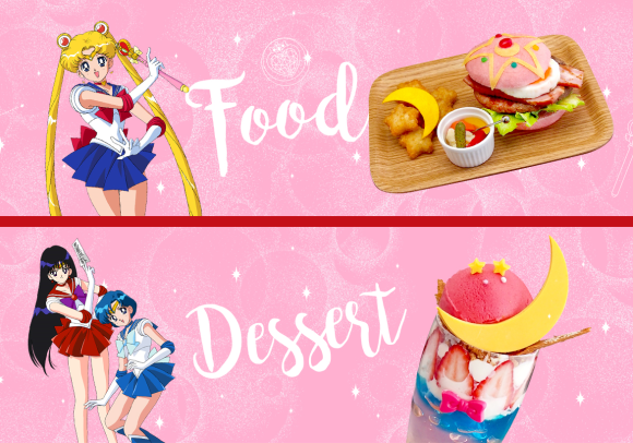 Sailor Moon's New Cafe In Tokyo!