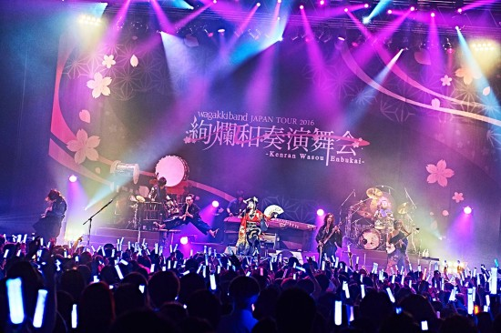 [LIVE REPORT] WagakkiBand treat Tokyo fans to spectacular headline show ahead of US tour