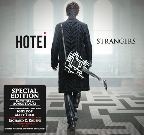 """Hotei Announces The Special Edition of """"STRANGERS"""" and U.S Concert Dates"""
