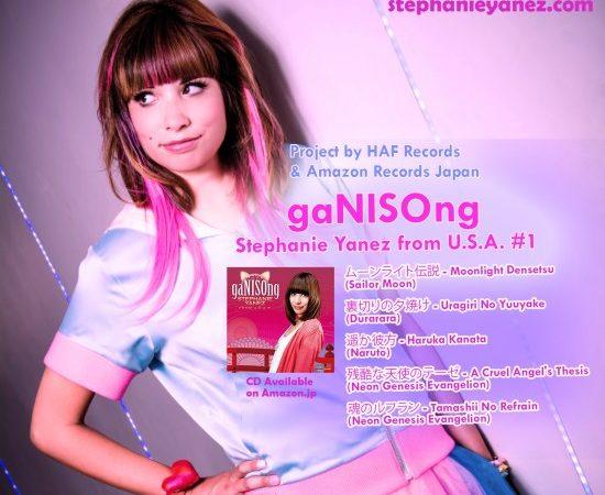 US ANIME SINGER STEPHANIE YANEZ RELEASES ANIME COVER ALBUM IN JAPAN