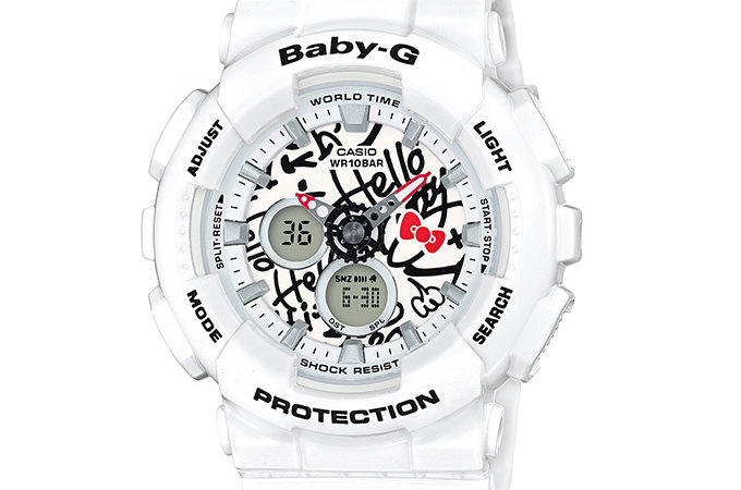 Hello Kitty × BABY-G collaboration watch – Inspired by 70's street graffiti design