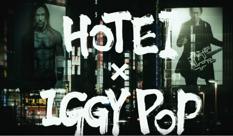 Hotei releases music video featuring Iggy Pop!