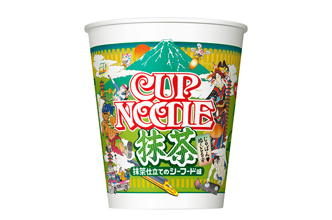 Matcha flavored Cup Noodle is coming!