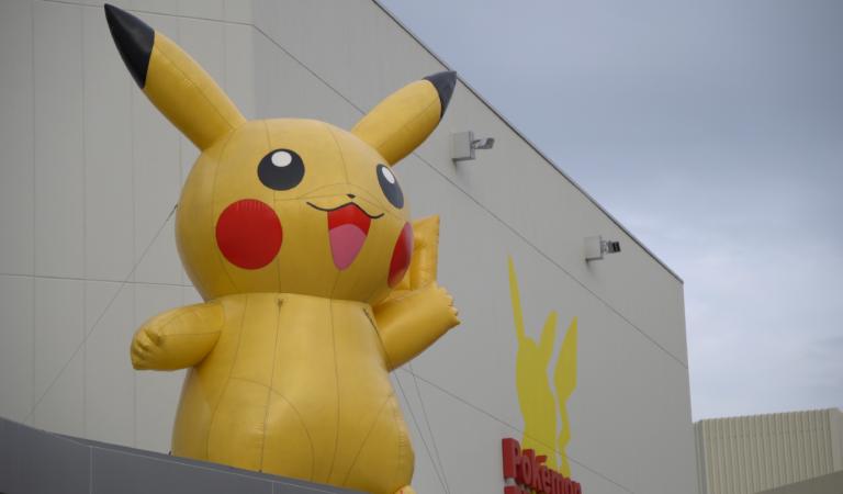 Pokemon Gym in Osaka!