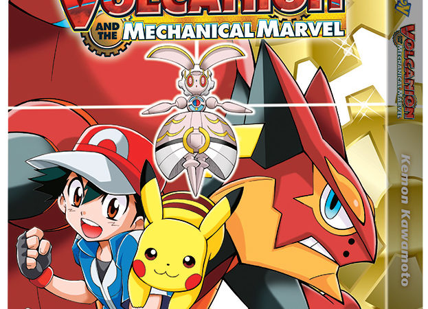 VIZ MEDIA Will RELEASE HOME MEDIA AND MANGA RELEASE OF POKÉMON THE MOVIE: VOLCANION AND THE MECHANICAL MARVEL