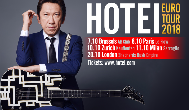 HOTEI Euro Tour 2018 Dates!