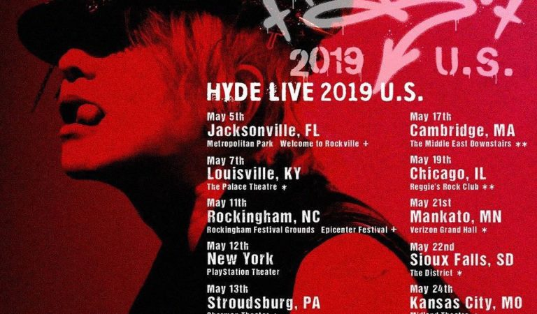 [Interview]Japanese Rocker HYDE Talks New Songs and Ambition Amid US Tour