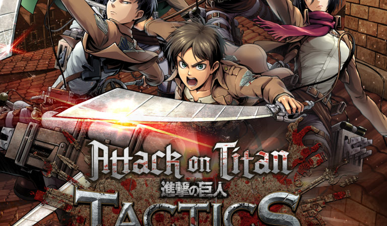 Attack on Titan TACTICS Opens Pre-Registration on Google Play, Along with Pre-Registration Rewards Campaign