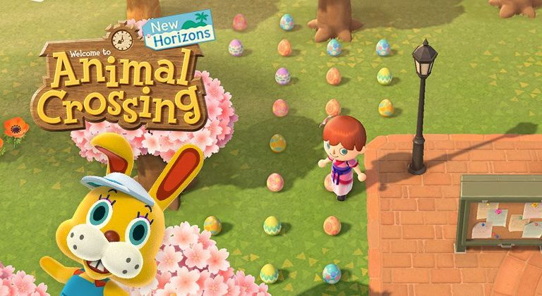 Play Nintendo Switch, Animal Crossing: New Horizon You Can Egg Hunting at home.