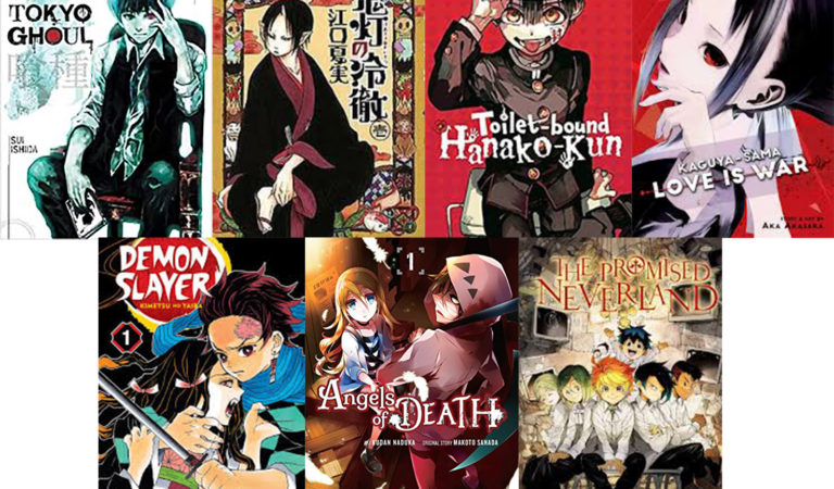 Manga titles that are recommended for safe stay home time that are popular in Anime and games
