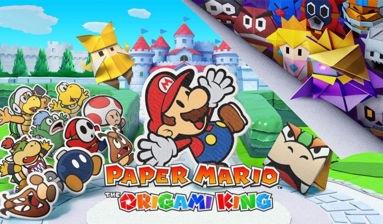 Super Mario Origami King