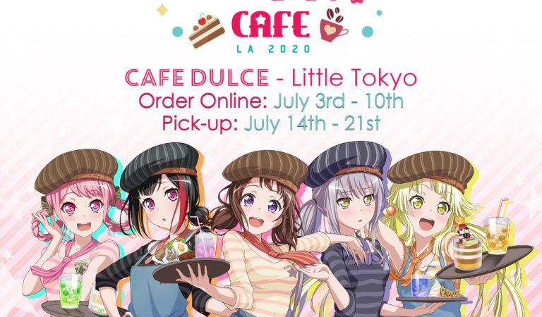 BanG Dream! Girls Band Party! Cafe LA 2020
