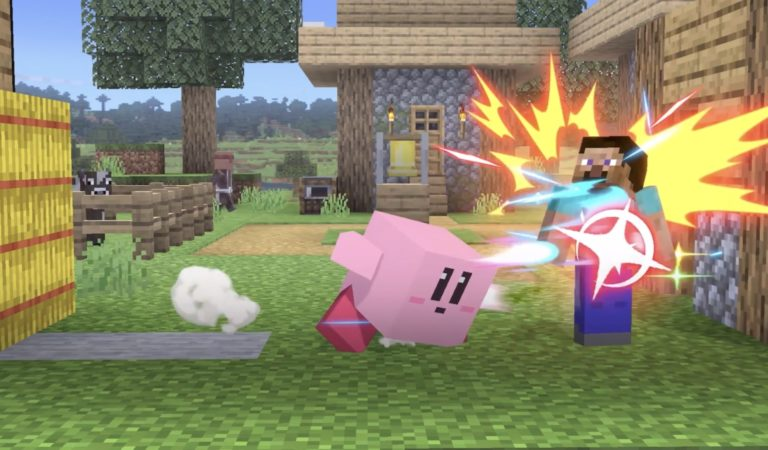 Minecraft's Steve and Alex Join the Battle in Super Smash Bros. Ultimate