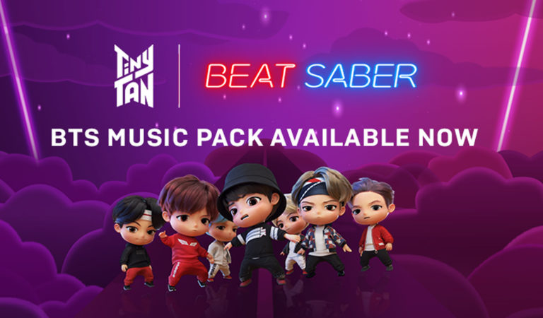 BTS Beat Saber Music Pack Ready for KPOP Fans Around the World
