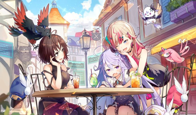"Bushiroad's VTuber Project, ""Irodori Entertainment Post"" Announced Artwork & Debut Stream"