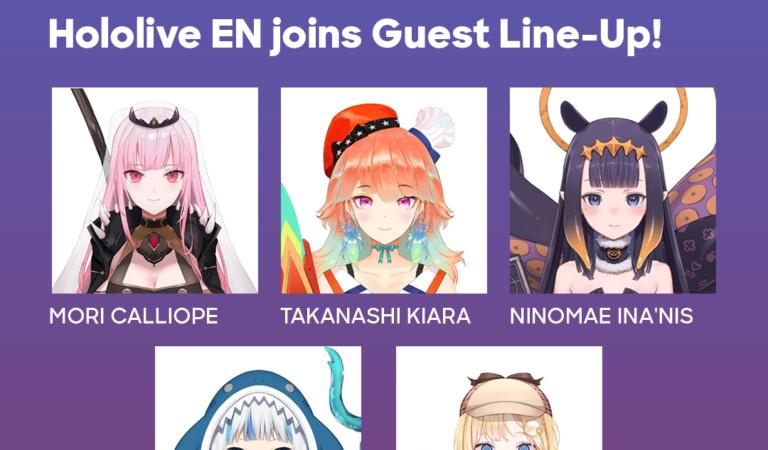 hololive VTuber Joining Anime Expo Lite 2021!